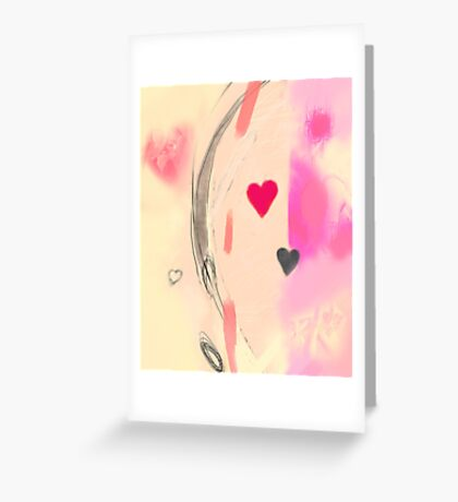 Corner of the heart Greeting Card
