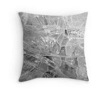 Glass Plains Throw Pillow