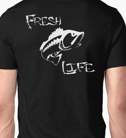Fresh Life Back White T-shirt Unisex T-Shirt
