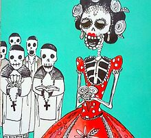 sweet  sixteen blessing by OutsiderArtist