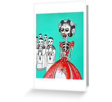 sweet  sixteen blessing Greeting Card