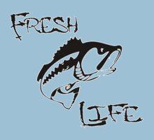 Fresh Life Back  T-shirt One Piece - Short Sleeve