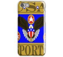 USA Sports Blue iPhone Case/Skin