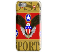 USA Sports Red iPhone Case/Skin