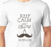 Keep Calm Mustache Unisex T-Shirt
