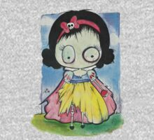 Zombie Snow White Kids Tee