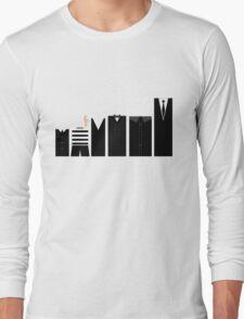 Addams Family - Simplistic  Long Sleeve T-Shirt
