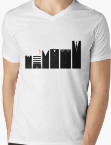Addams Family - Simplistic  Mens V-Neck T-Shirt