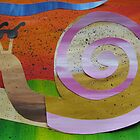 Snail reading Braille- recycled math book rhymes by cathyjacobs