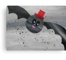 Bat in a hat Canvas Print