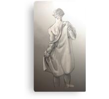 Disrobe (another little extra) - original format Canvas Print