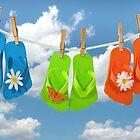Flip-Flop Fashion by Maria Dryfhout