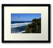 Burleigh Heads Right Hander Framed Print