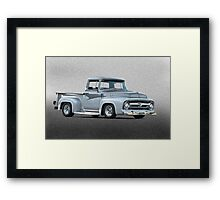 1956 Ford F100 Custom Pick-Up Truck II Framed Print