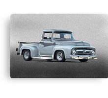 1956 Ford F100 Custom Pick-Up Truck II Canvas Print