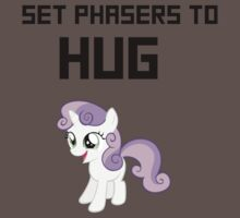 SET PHASERS TO HUG   by Zoe Smith