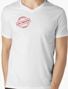 Free-Range Human Mens V-Neck T-Shirt