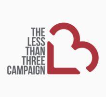 Less Than 3 Campaign T-Shirt Kids Clothes