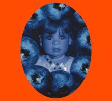 ☀ ツ4 THE LUV OF BLUEBERRIES CHILDRENS (KIDS) TEE SHIRT ☀ ツ Kids Tee