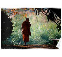 A Monk's Contemplation Poster
