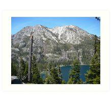 Inspiration Point, Lake Tahoe Art Print