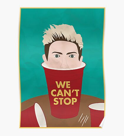 We Can't Stop Poster