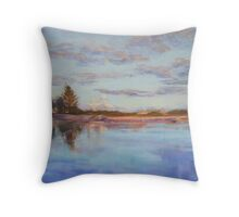 Narrabeen Lakes - late afternoon Throw Pillow