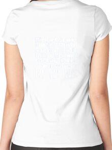 Dunder Mifflin Fun Run Women's Fitted Scoop T-Shirt