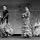 Spanish Dancers by Andrew  Makowiecki