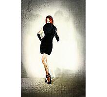 Peek Photographic Print