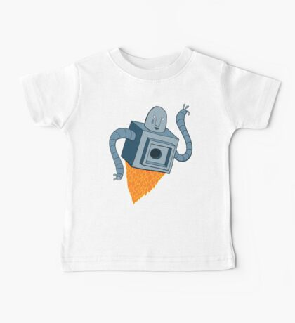 sad robot sails into the void Baby Tee
