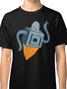 sad robot sails into the void Classic T-Shirt