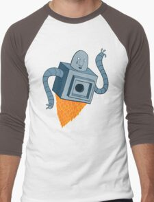 sad robot sails into the void Men's Baseball ¾ T-Shirt