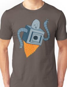 sad robot sails into the void Unisex T-Shirt