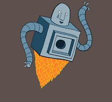 sad robot sails into the void Unisex T-Shirt
