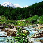 Valbones Valley Albania by Les Haines