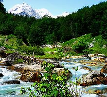 Valbones Valley Albania by Les Haines