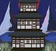 iphone Temple Zen by Cranemann