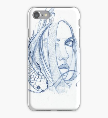 Playing Coy iPhone Case/Skin