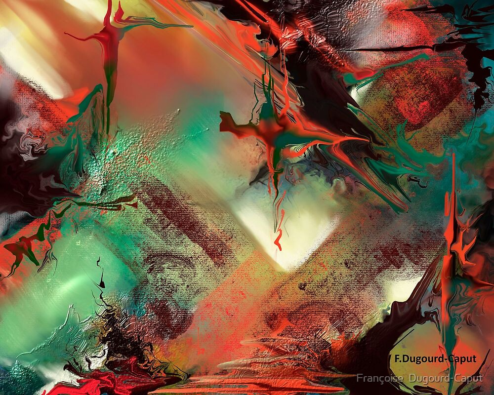 Imboglio featured in Artists on Facebook ,Abstract Art by Françoise  Dugourd-Caput