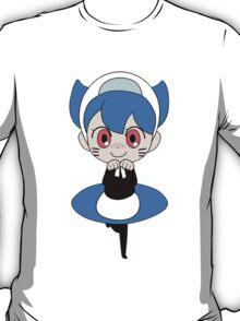 Blue catgirl T-Shirt