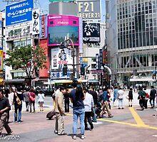 Shibuya, Tokyo (JAPAN) by Bryan W. Cole