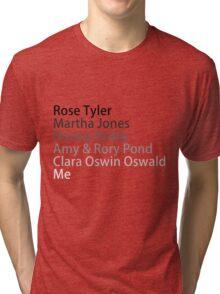 Companions: Past & Future Tri-blend T-Shirt