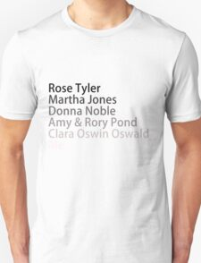 Companions: Past & Future T-Shirt