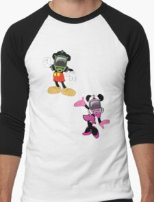 Mickey mouse & minnie Men's Baseball ¾ T-Shirt