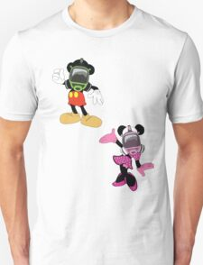 Mickey mouse & minnie T-Shirt