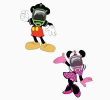 Mickey mouse & minnie Unisex T-Shirt