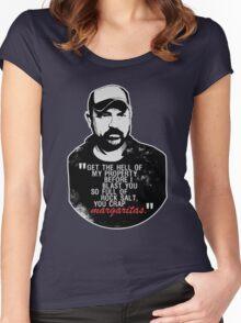 You crap MARGARITAS! Women's Fitted Scoop T-Shirt