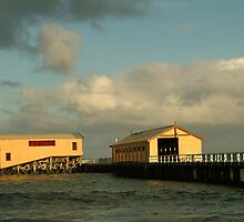 Joe Mortelliti Gallery - Queenscliff pier, Bellarine Peninsula, Victoria, Australia. by thisisaustralia