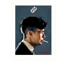 Peaky Blinders - clean background Art Print